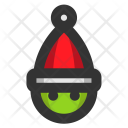Christmas Holiday Elf Icon