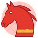 Christmas Horse Animal Creature Icon