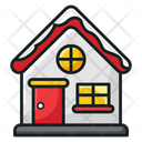 Christmas House Christmas Home Xmas House Icon