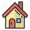 House Winter House Christmas House Icon