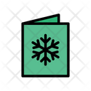 Invitation Card Christmas Icon