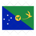 Christmas Island Flag Flags Icon