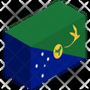 Flag Country Christmas Island Icon