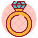 Ring Diamond Ring Wedding Ring Icon