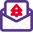 Christmas Letter Icon