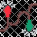 Light Christmas Decoration Icon