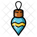Ball New Year Ornament Icon