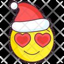 Christmas Love Emoji Icon