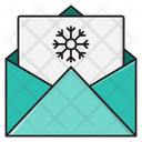 Message Christmas Card Icon