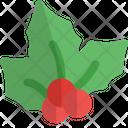 Christmas Mistletoe Icon