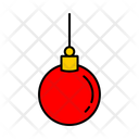 Color Ornaments Christmas Icon