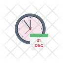Time Christmas Party Icon