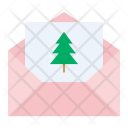Christmas party invitation Icon
