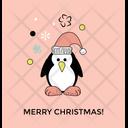Christmas Penguin Icon