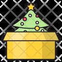 Present Christmas Parcel Icon