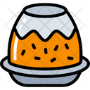 Christmas Pudding Food Holidays Icon