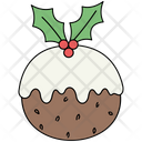 Christmas Pudding Xmas Icon