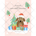 Christmas Reindeer Festive Icon