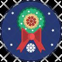 Christmas Ribbing Icon