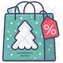 Sale Discount Christmas Icon