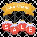 Christmas Sale Sign Icon