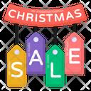Christmas Sale Tags Icon