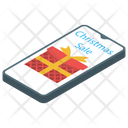 Sales App Christmas Sale E Commerce Icon