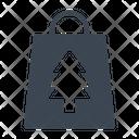 Bag Shopping Christmas Icon