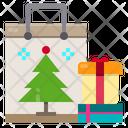 Shopping Bag Gift Box Christmas Icon