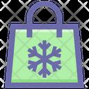 Bag Snow Christmas Icon