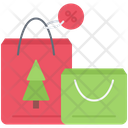 Christmas Sale Package Icon