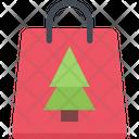 Christmas Shoppng Shopping Bag Bag Icon