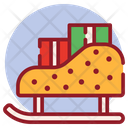 Christmas Sled Icon