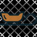 Christmas sledge Icon