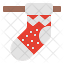 Christmas Sock Sock Xmas Icon