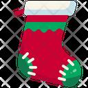Christmas Sock Holiday Xmas Icon