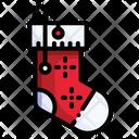 Christmas Sock Sock Foot Icon