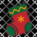 Sock Winter Christmas Santa Xmas Icon