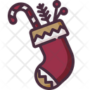 Christmas Sock Clothing Clothes Icon