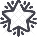 Star Xmas Decoration Icon