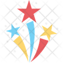 Christmas Stars Stars Five Pointer Icon