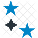 Christmas Stars Favorite Five Pointed Icon