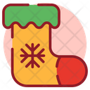 Sock Christmas Stocking Kid Sock Icon