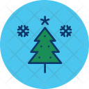Tree Christmas Winter Icon