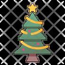 Christmas Tree Christmas Decoration Celebration Icon