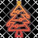 Christmas Tree Decorated Tree Pine Tree Icon