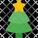 Decorated Pine Tree Icon