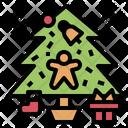 Tree Sock Snowflake Icon