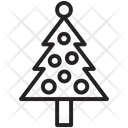 Christmas Tree Winter Icon