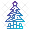 Christmas Christmas Tree Decoration Icon